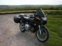 BMW R1100S LOW MILES LONG MOT C/W LAZER SYSTEM & LUGGAGE