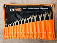 RAC 14-piece Spanner Set