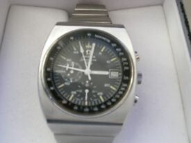 Omega Speedmaster 125 automatic mechanical chronograph chronometer wristwatch-Swiss- '73 - Ltd Edit