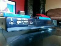 Philips bluray player with 2 films
