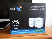 BT Broadband extender 600 new in box