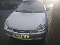 chrysler neon,2.0 petrol,auto,brand new mot,drives well,leather interior