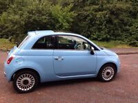 Fiat 500 Lounge, lovely spec, ONLY 29,000 miles..