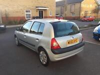 RENAULT CLIO EXPRESSION 1.2/1 YEAR MOT /GREAT CONDITION/CHEAP TO RUN/£895