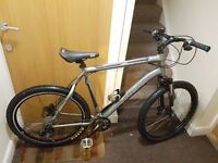 Trek mountain bike with 26 inch wheel size and 22.5 inch frame size.