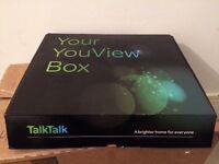 Talk talk youview box - brand new