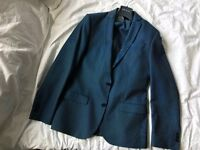 Mens Blue River Island Suit - Good condition