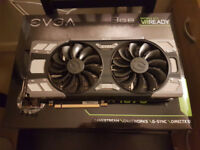 EVGA GeForce GTX 1070 FTW GAMING ACX 3.0 NVIDIA Boxed Mint Condition