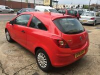 2008 VAUXHALL CORSA 1.0L 3 DOOR RED HPI CLEAR CHEAP TO INSURE LONG MOT
