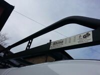 RHINO ROOF RACK WITH ROLLER FITTED BRAND NEW DECEMBER