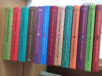 A series of unfortunate events(set of 13)