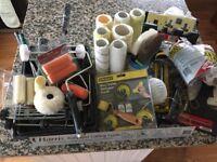 Various decorating tools
