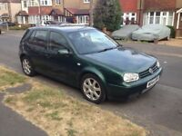 Volkswagen Golf 2.8 V6 Fully loaded very Power car with AIR CONDITIONING