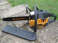 Brand new McCulloch Chainsaw never used £95, Wimborne