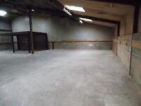 Storage space/Warehouse space/Bulk Storage