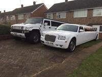 LIMOS2HIRE 16/8 seater & CARS2HIRE we welcome any occasion