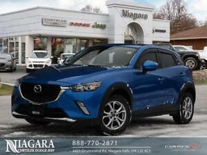 2016 Mazda CX-3 GS | SUNROOF | LEATHER | NAVI | HTD SEAT/WHEEL