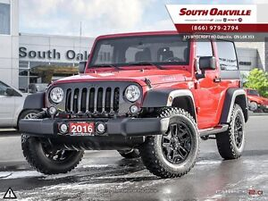 2016 Jeep Wrangler Sport | 4X4 | BLUETOOTH | SATELLITE SIRIUSXM