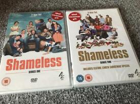 Shameless dvds series 1&2