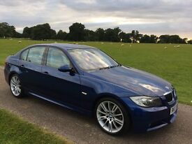 BMW 325i M Sport saloon, Excellent example, Xenon headlights, heated leather seats, FSH