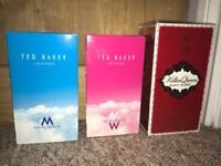 Ted baker and perry perfume and aftershave