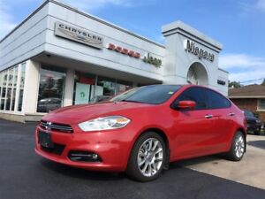 2014 Dodge Dart LIMITED,LEATHER,ALLOYS,NAV,HTD SEATS