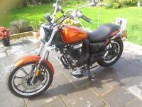 2016 lexmoto Michigan 125cc