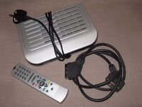 Bush iD DFTA 11 Digital Freeview Receiver Box with Remote Controls and Scart Lead