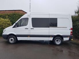 2010 10 rEG mercedes sprinter 516 cdi manual ex police direct riot bus your new day camper