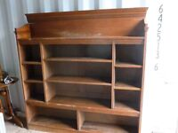 Old bookcase