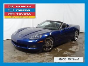 2007 Chevrolet Corvette 3LT/HEADS UP/NAVIGATION/DECAPOTABLE