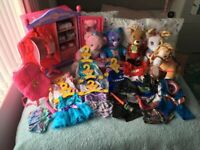 Build a bear Wardrobe, bears, clothes and various accessories