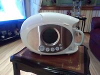 SWAN TEASMADE WITH ALARM AND READING LIGHT AS NEW