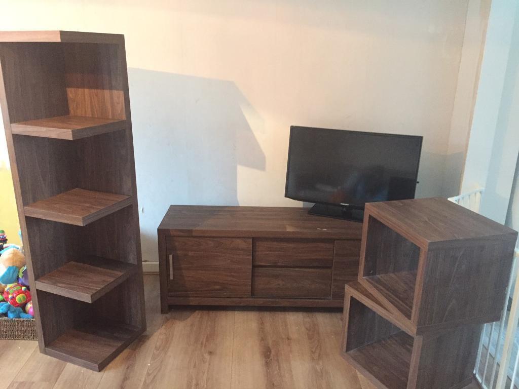 Next Living Room Furniture Bundle Tv Cabinet Shelving