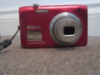 used nikon coolpix s2800