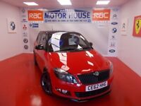 Skoda Fabia MONTE CARLO TSI(STUNNING) FREE MOT'S AS LONG AS YOU OWN THE CAR!! (red over black) 2012