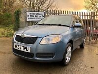 2007 57 Skoda Roomster 2 1.9 TDI Grey
