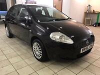 !!12 MONTHS MOT!! 2006 FIAT GRANDE PUNTO 1.2 ACTIVE / SERVICE HISTORY / BLACK / 5 DOOR / DRIVES GOOD