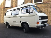 Volkswagen T25/T3 pop-top with reconditioned JX engine