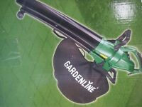 NEW GREENLINE GARDEN 3 IN 1 GARDEN BLOWER & VACUUM NEW