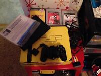 PlayStation 2 slim with accessories