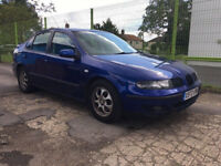 SUPERB SEAT TOLEDO 5 DOOR HATCHBACK, ALLOYS. NEW CAMBELT, LONG MOT TAXED .