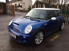 2005 mini hatch Cooper s Low mileage 1 owner full main dealer history