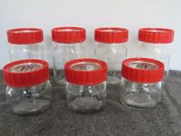 Kilner Jars 25 fl oz and 15 fl oz