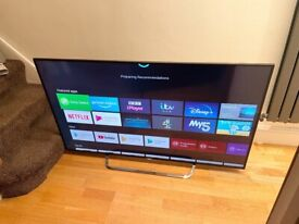 "SONY 55"" 4K ULTRA HD SMART ANDROID TV,EXCELLENT CONDITION, FULLY WORKING £400 NO OFFERS CAN DELIVER"