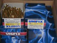 unifix wood screws gardening decking wood 5x70mm 100 per box
