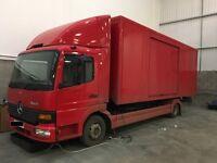 2000 Mercedes Atego vehicle transporter
