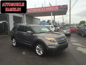 2013 Ford Explorer Limited 7 PASSAGERS GPS TOIT CUIR MAGS BAS KI