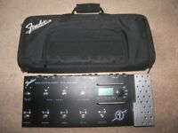 Fender Mustang Floor Guitar Multi Effects Processor + Gig Bag.