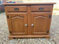 Wooden cupboard. Sideboard. Possible delivery